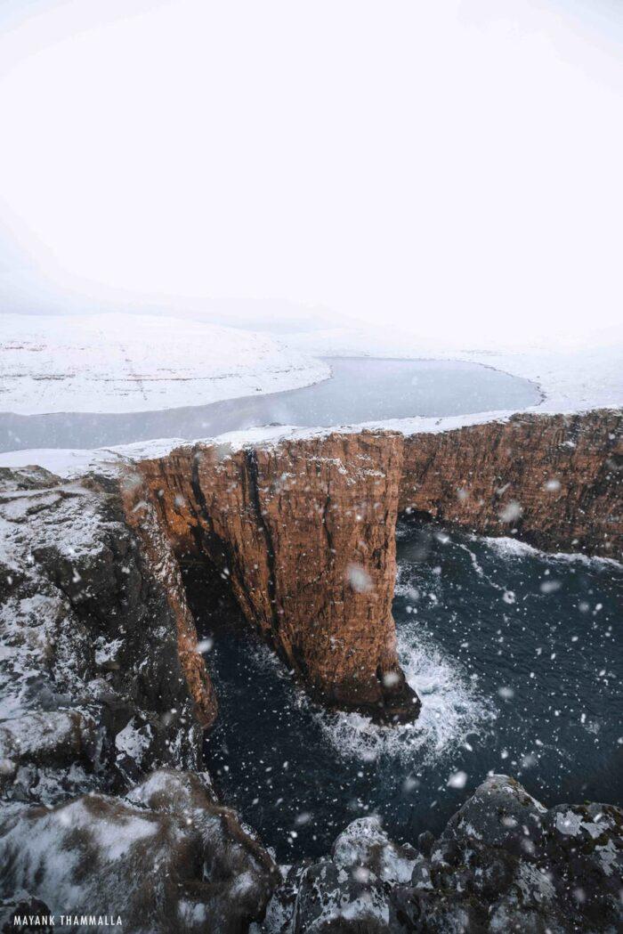 Lake sørvágsvatn - Guide to Faroe Islands