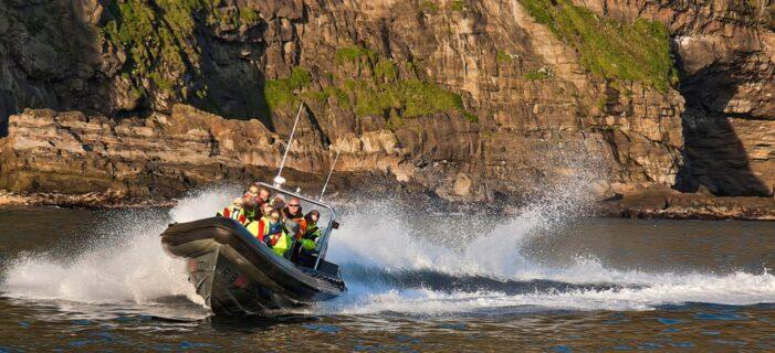 Faroe Islands rib boat