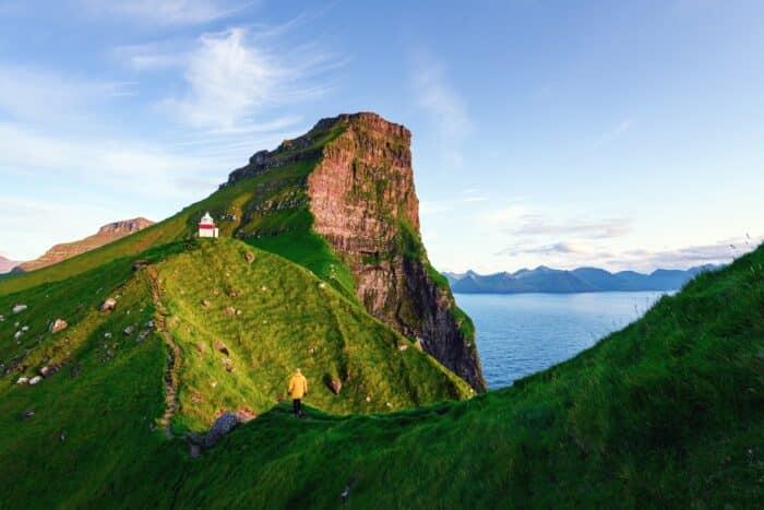 Kallur Lighthouse-guide-to-faroe-islands