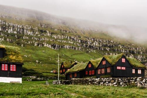 Kirkjubøur in summer Guide to Faroe Islands