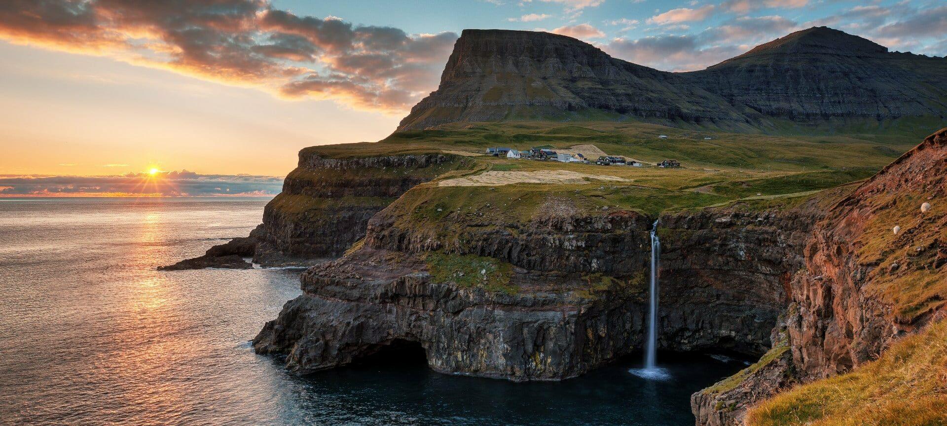 Múlafossur - Guide to Faroe Islands