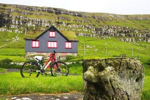Biking Kirkjubøur
