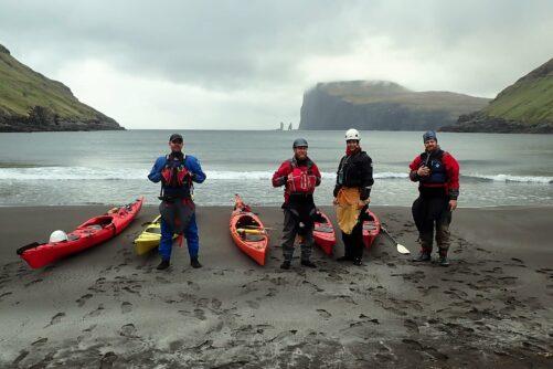 tjørnuvík kayaking